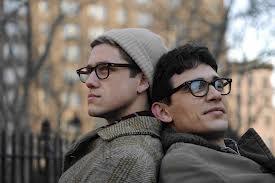 Aaron Tveit & James Franco in Howl